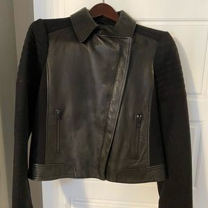 NEW VINCE LEATHER/WOOL JACKET🖤